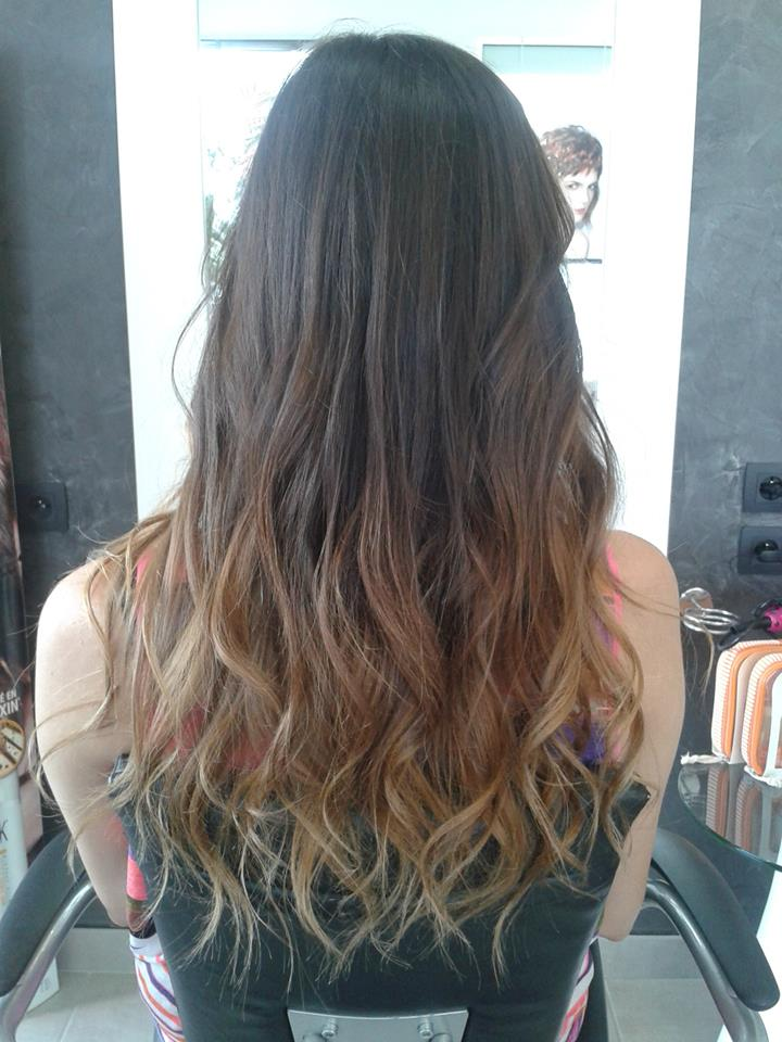 Notre book face look coiffure galerie 2013 2014 - Tie and dye caramel ...